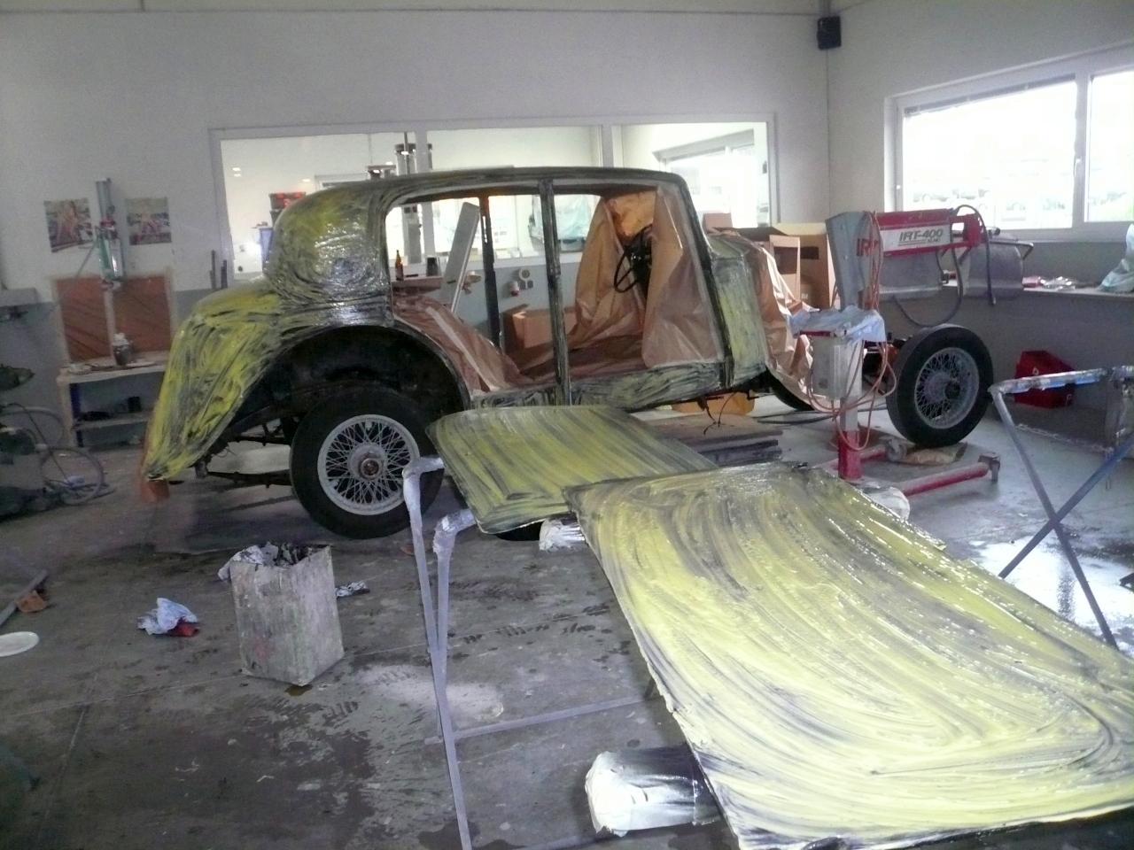 Restaurierung Bentley