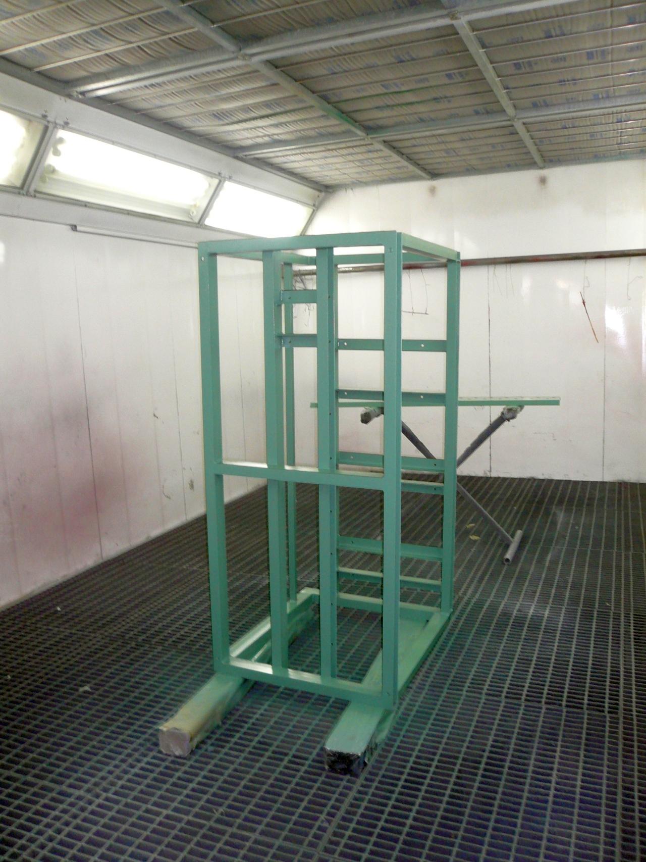Industrielackierungen - Stahlgerüst
