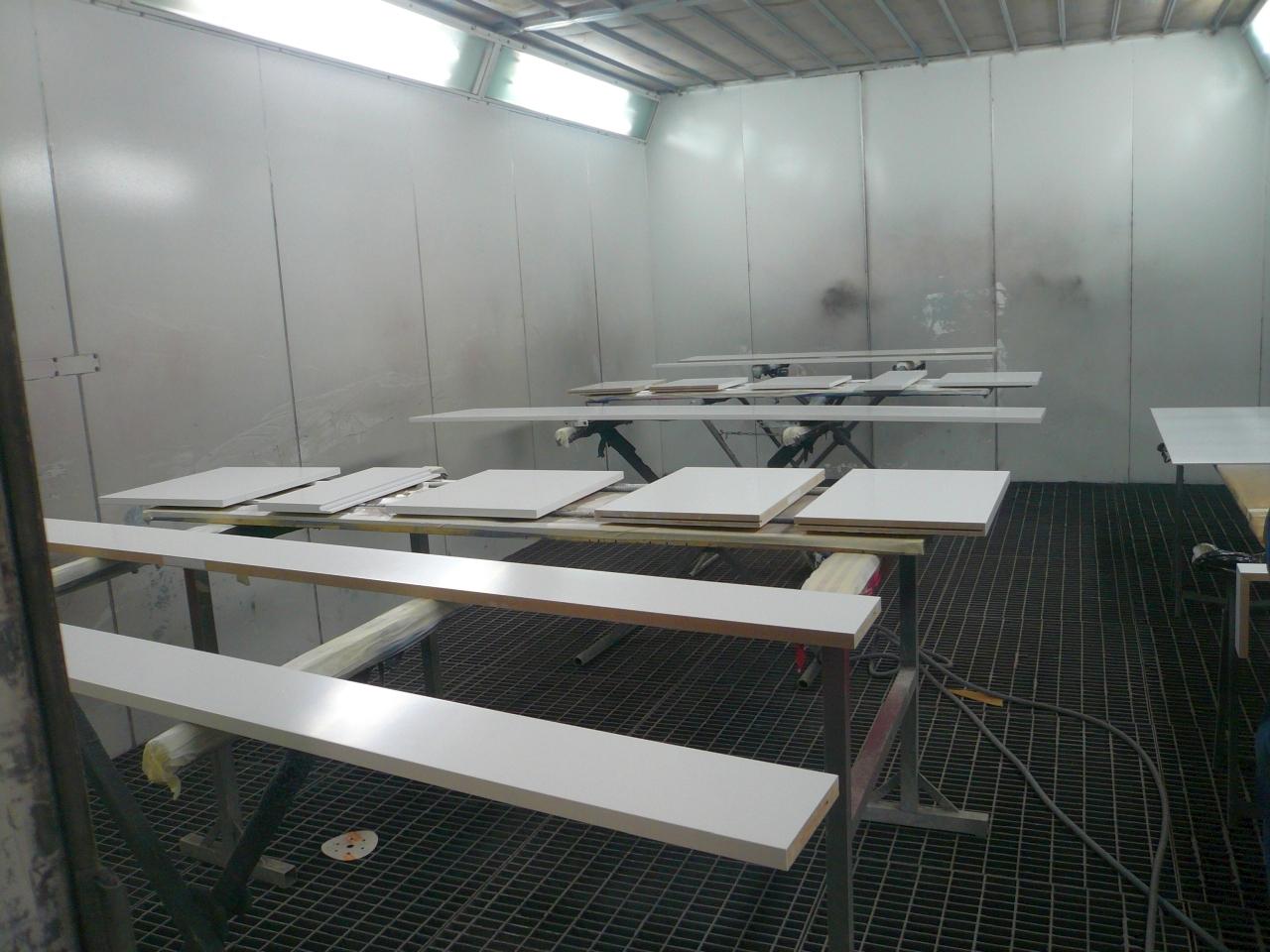 Industrielackierungen - Möbelfronten