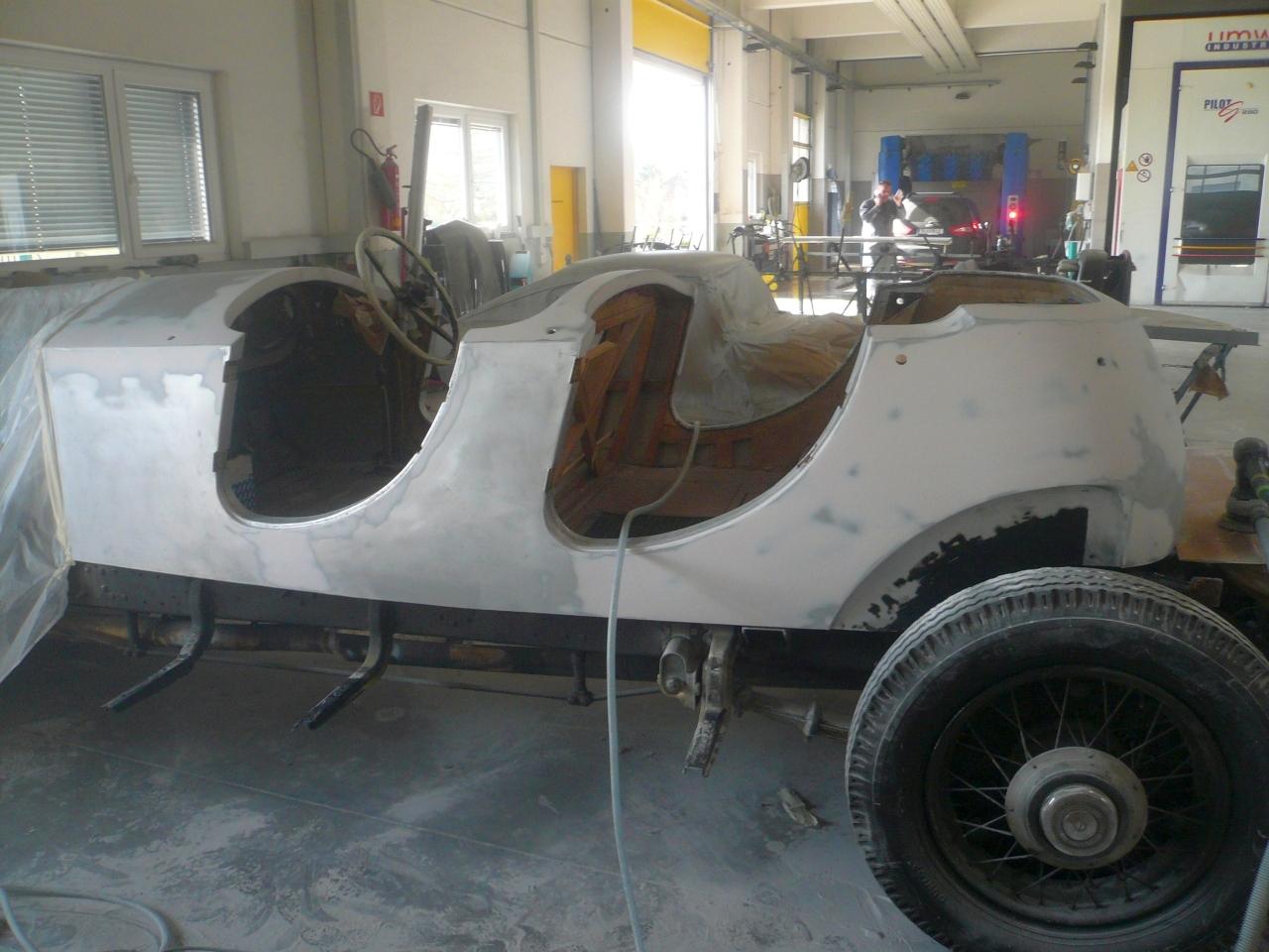 Restaurierung Rolls Royce